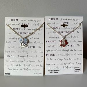 Jewelry - Lot of 2 Necklaces for Dog Lovers NWT